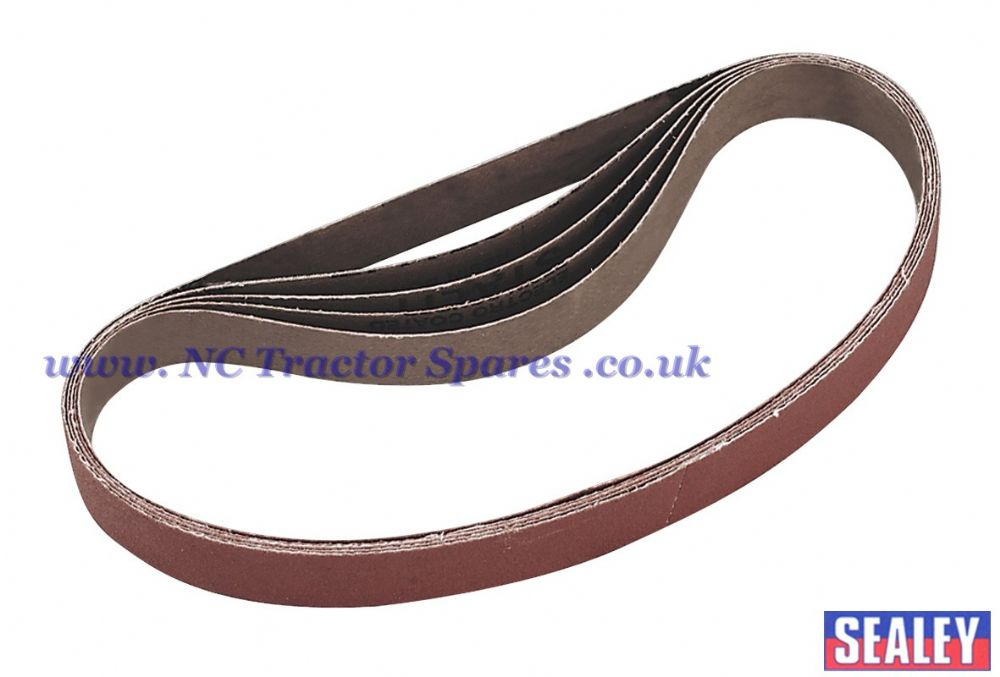 Sanding Belt 120Grit 20 x 520mm Pack of 5